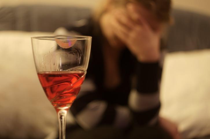 Нетрезвый выпивший алкоголь