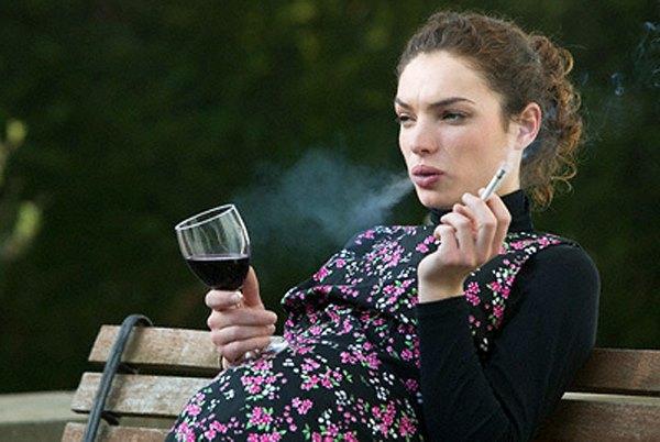 Пьющая беременная