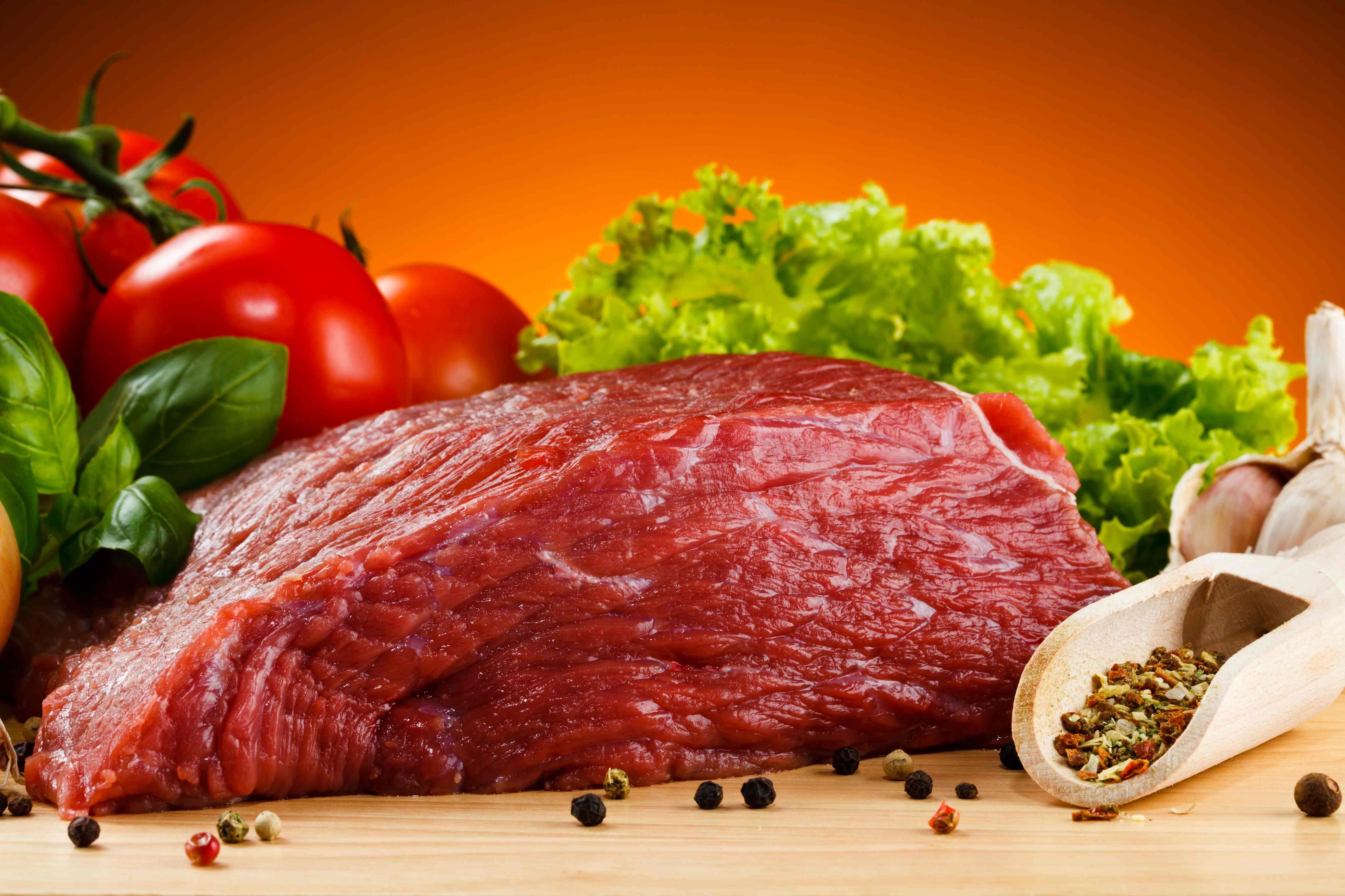Красное мясо говядина