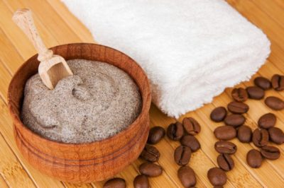 Скраб из кофе и глины