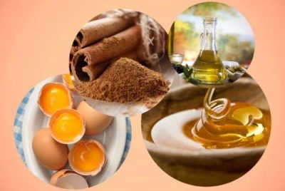 Корица мед масло