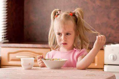 Отсутствие аппетита ребенка