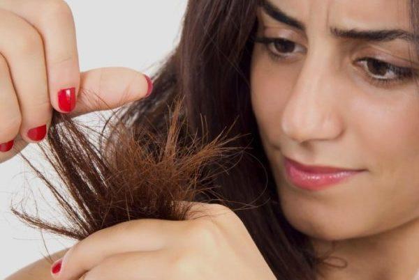 Расслаивание кончиков волос