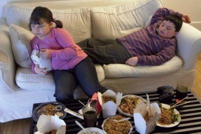 Сидячий образ жизни вредная еда