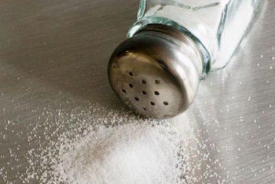Соль задерживает воду