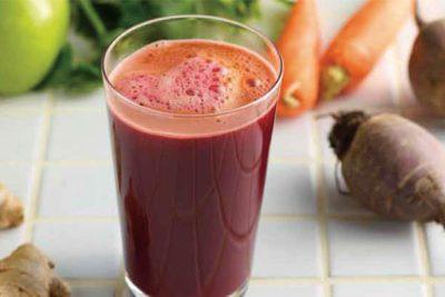Сок моркови и свеклы