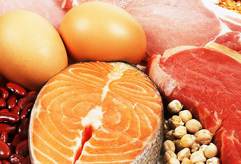Мясо, рыбы, яиц
