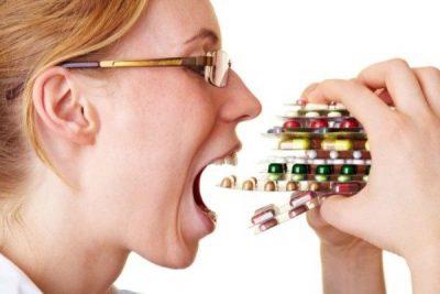 неумеренный прием лекарств