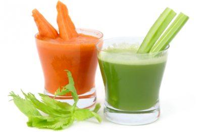 сок моркови и шпината