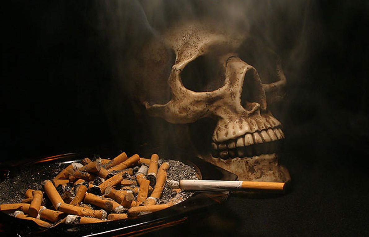 Бросила курить кожа испортилась