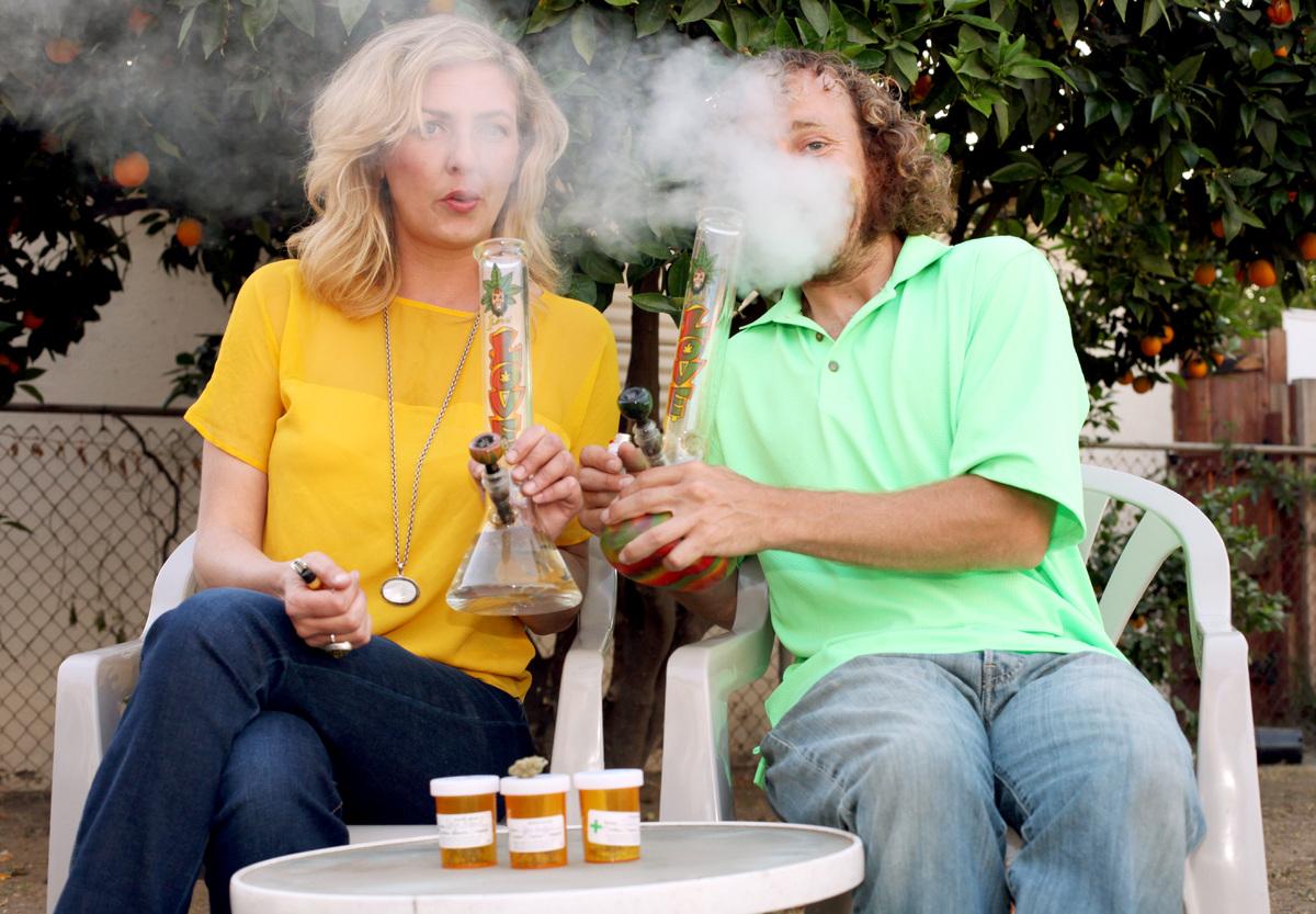 Курение травки