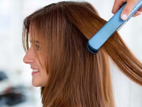 Выпрямление волос средством сocohoco