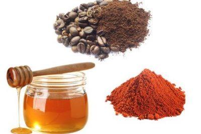 Кофе мед и красный перец