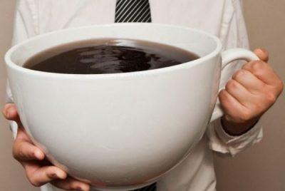 Много кофе