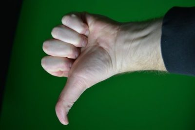 Рука большой палец