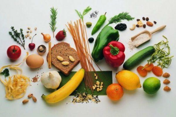 Овощи злаки фрукты