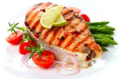 Овощи рыба