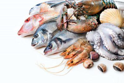 Рыба морепродукты
