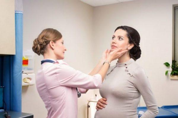 Беременная йод