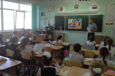 Лекция в школе о вреде наркомании