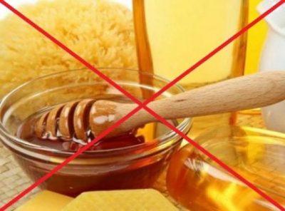 Нельзя мед запрещен
