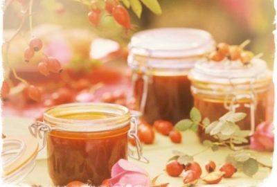 Шиповник с медом